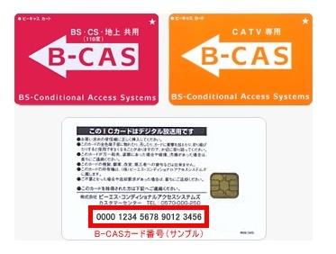 WOWOWオンデマン B-CAS2