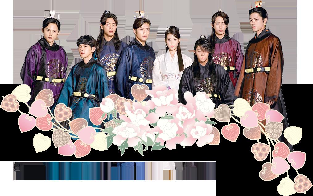 麗〈レイ〉〜花萌ゆる8人の皇子たち〜 キャスト